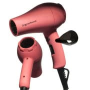 O&M Jet Setter Pink Mini Travel Hair Dryer