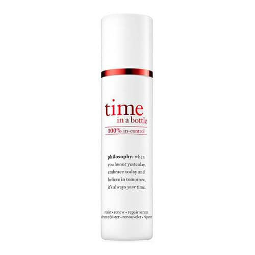 philosophy time in a bottle 100% in control serum by philosophy