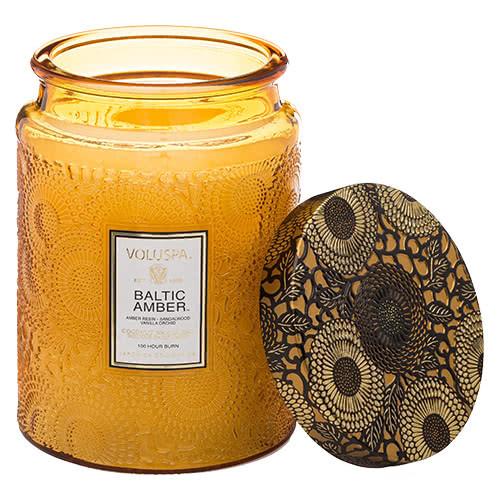 Voluspa Baltic Amber Jar Candle by Voluspa
