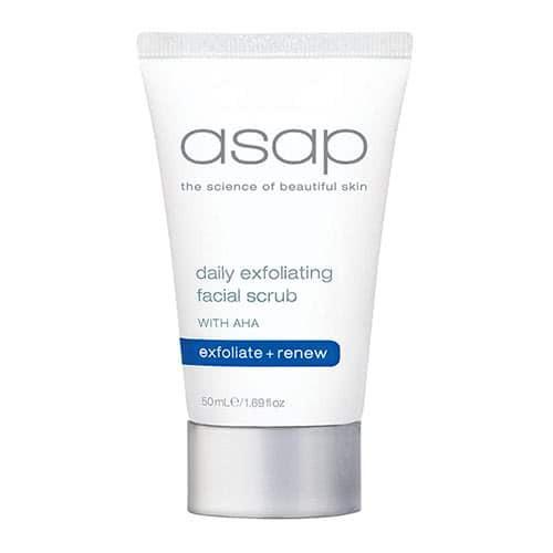 asap daily exfoliating facial scrub 50ml by asap