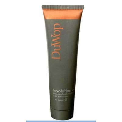 DuWop Revolotion Moisturising Body Bronzer - Medium - sheer luminous tan by DuWop color Medium - sheer luminous tan