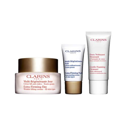 Clarins Extra-Firming Essentials Skin Trio Set by Clarins