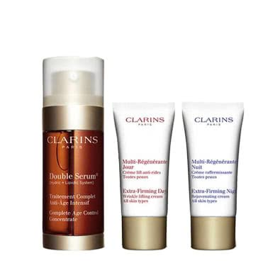 Clarins Double Serum 30mL + Extra-Firming Gift Set