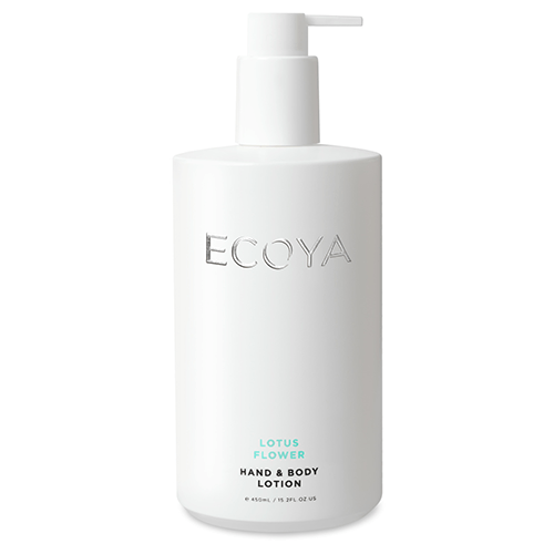 Ecoya Lotus Flower Hand & Body Lotion, 16.9 fl oz ...