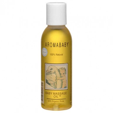 Aromababy Baby Massage Oil with Organic Lavender & Rose 250ml by Aromababy