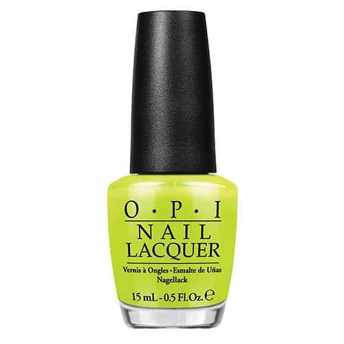 OPI Neon Nail Polish Collection Life Gave Me Lemons  by OPI
