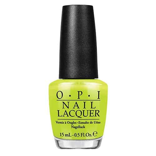 OPI Neon Nail Polish Collection Life Gave Me Lemons  by OPI color Life Gave Me Lemons