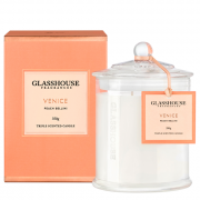 Glasshouse Venice Candle - Peach Bellini 350g