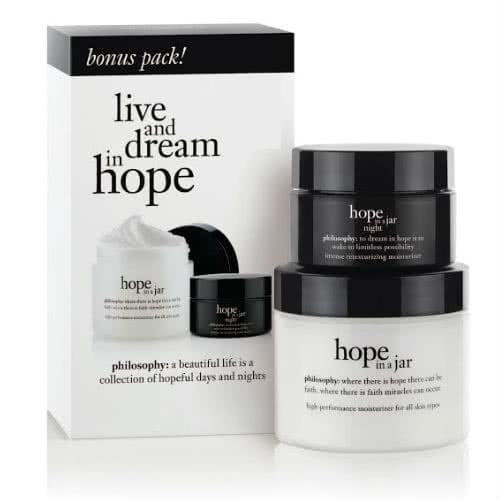 philosophy hope in a jar day and night kit by philosophy