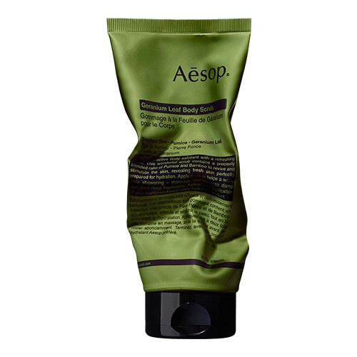 Aesop Geranium Leaf Body Scrub by Aesop