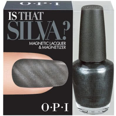 OPI Magnetic Nail Polish & Magnetizer - Skyfall Collection-Is That Silva?