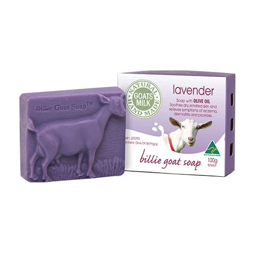 Billie Goat Body Bar Lavender by Billie Goat Soap