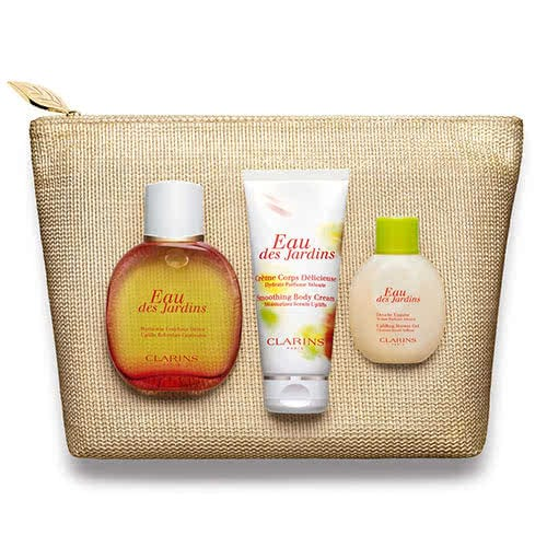 Clarins Captivating Luxuries Gift Set: Eau Des Jardins by Clarins