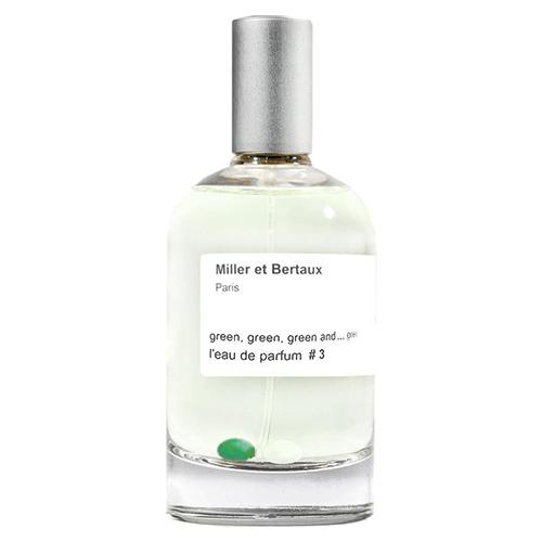 Miller et Bertaux Green, Green, Green and...Green 100ml by Miller et Bertaux