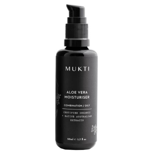 Mukti Organics Aloe Vera Moisturiser 50ml by Mukti Organics