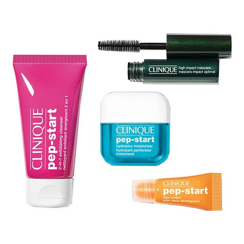 Clinique Pep-Start Deluxe Travel Set by Clinique