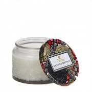 Voluspa Ebony & Stone Fruit Petite Jar Candle