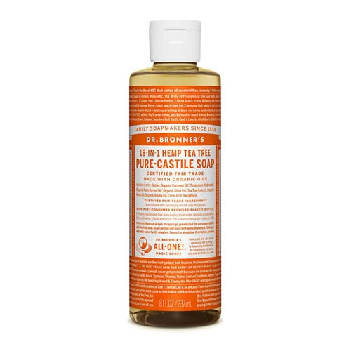 Dr. Bronner Castile Liquid Soap - Tea Tree 237ml
