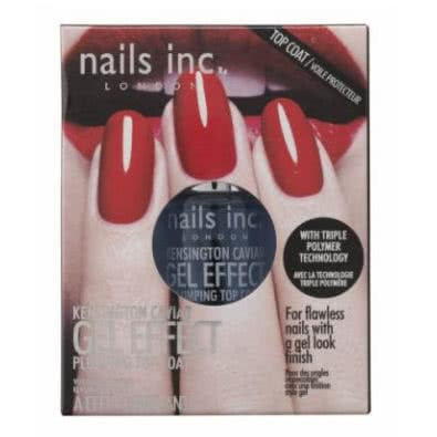 nails inc. Kensington Caviar Gel Effect Plumping Top Coat + Free Post