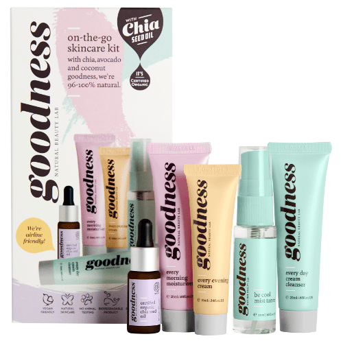 Goodness On-the-Go Skincare Kit by Goodness