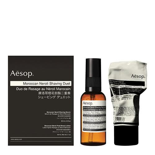 Aesop Moroccan Neroli Shaving Duet by Aesop