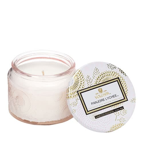Voluspa Panjore Lychee Petite Jar Candle by Voluspa