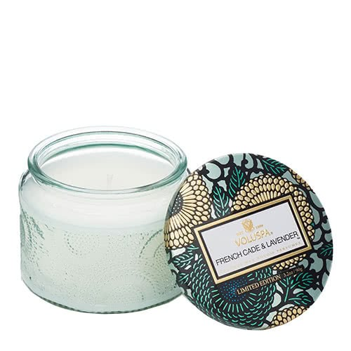 Voluspa French Cade & Lavender Petite Jar Candle by Voluspa