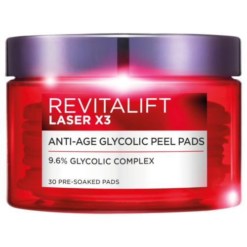 L'Oréal Paris Revitalift Laser X3 Glycolic Peel Pads