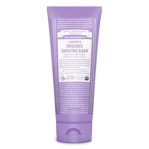 Dr. Bronner Organic Shaving Soap - Lavender by Dr Bronner-s