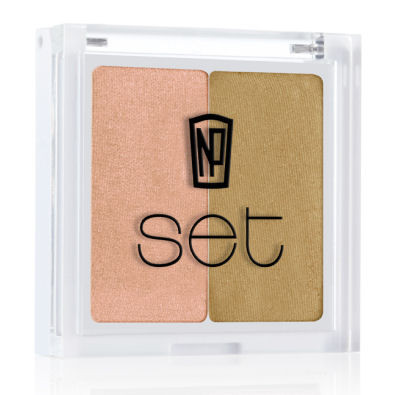 NP Set Eye Shadow Duo-Saint Barts by NP Set color Saint Barts
