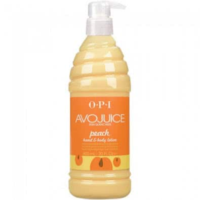 OPI Avojuice Lotion 200ml Peach - Peach by OPI color Peach