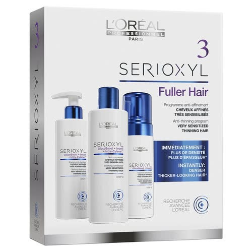 L'oreal Serioxyl Kit 3 - Sensitised Thinning Hair by Serioxyl