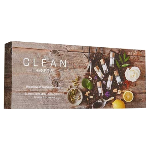Clean Reserve Six Piece Reserve Travel Spray Layering Collection