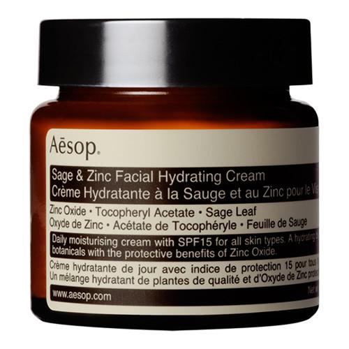 Aesop Sage & Zinc Facial Hydrating Cream SPF15 - 60ml - jar