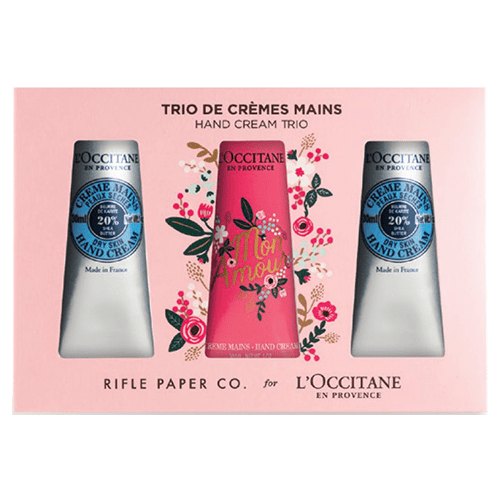 L'Occitane Rifle Shea Hand Cream Trio Gift by L'Occitane