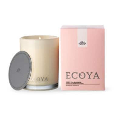 Ecoya Madison Jar Fragranced Candle - Sweet Pea & Jasmine