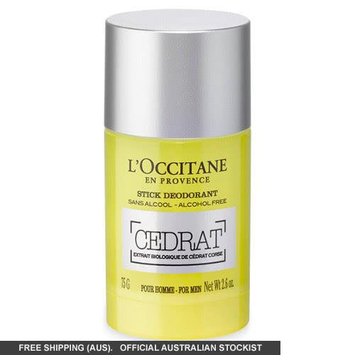 L'Occitane Cedrat Stick Deodorant by loccitane