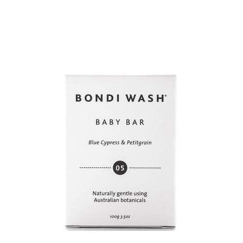 Bondi Wash Baby Bar Blue Cypress & Petitgrain  by Bondi Wash