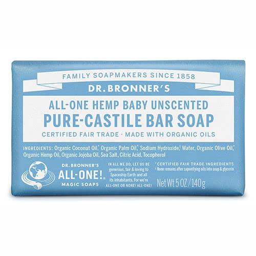 Dr. Bronner Castile Bar Soap - Baby-Mild by Dr. Bronner's