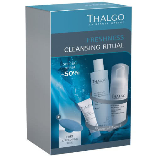 Thalgo Freshness Cleansing Trio - Normal to Combination Skin Types - Save 50%! by Thalgo