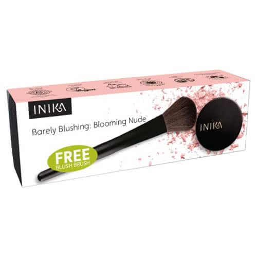 Inika Barely Blushing: Blooming Nude with Free Blush Brush by Inika