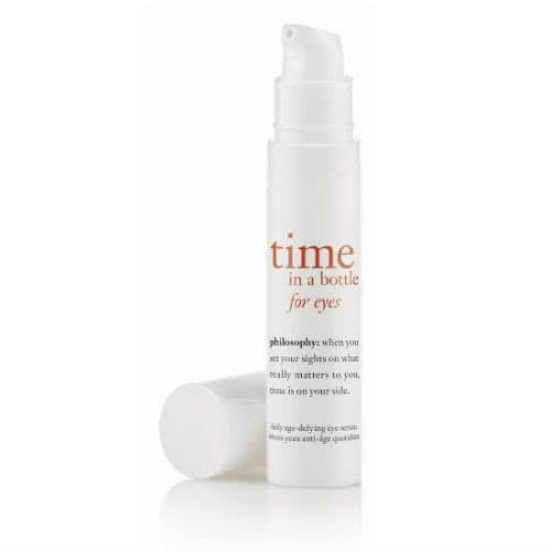 philosophy time in a bottle for eyes daily age-defying eye serum by philosophy