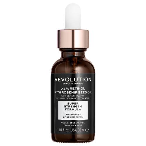 Revolution Skincare 0.5% Retinol Serum with Rosehip Seed 30ml by Revolution Skincare