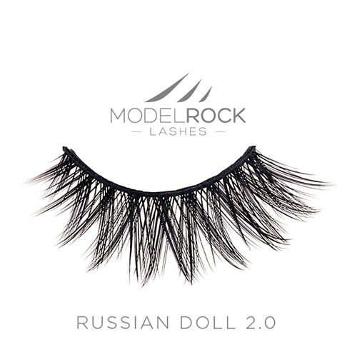 MODELROCK Signature Lashes - Russina Doll 2.0 Double Layered