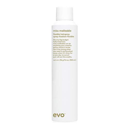 evo miss malleable flexible hairspray by evo