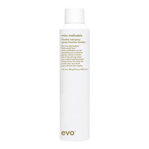 evo miss malleable flexible hairspray