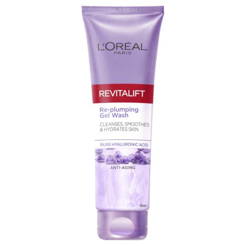 L'Oreal Paris Revitalift Filler Hyaluronic Acid Plumping Cleanser 150ML by L'Oreal Paris