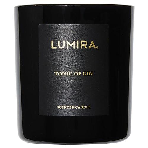 Lumira Black Candle Tonic of Gin 300g