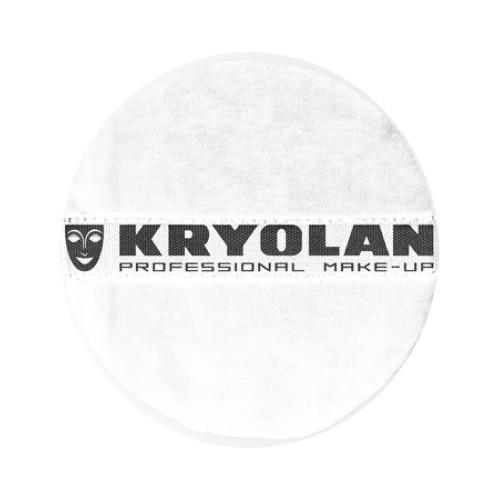 Kryolan Powder Puff 10cm – White