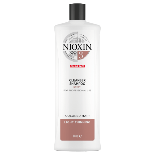 Nioxin 3D System 3 Cleanser Shampoo 1000ml by Nioxin